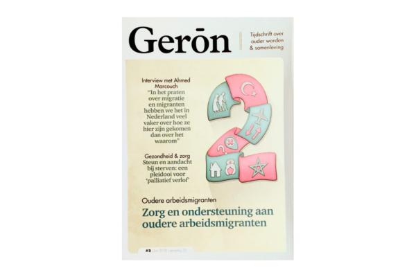 Publicatie Tijdschrift Geron