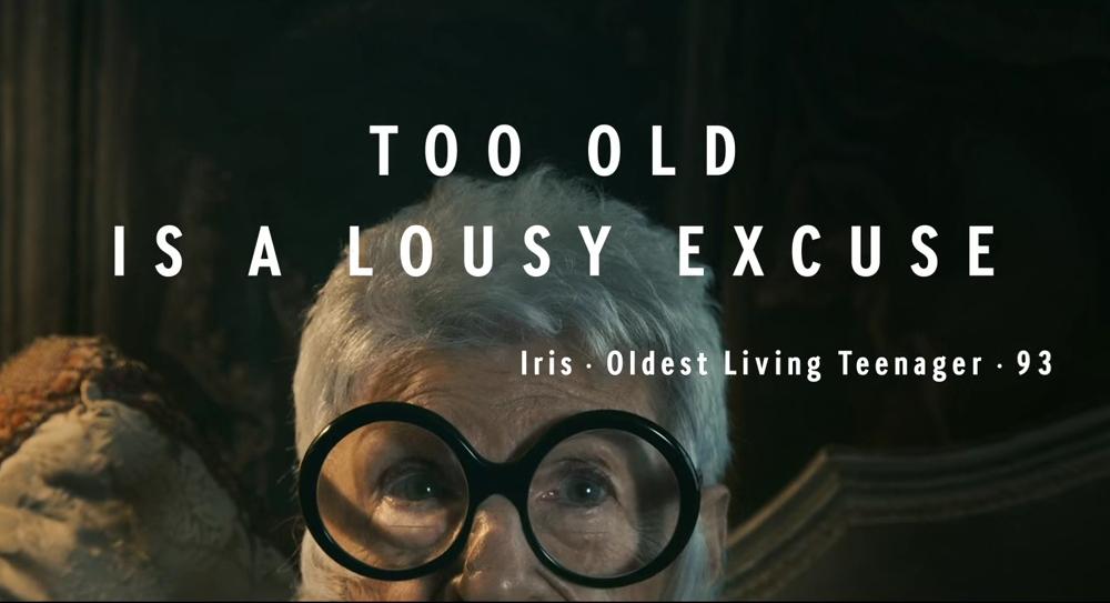 te oud zijn