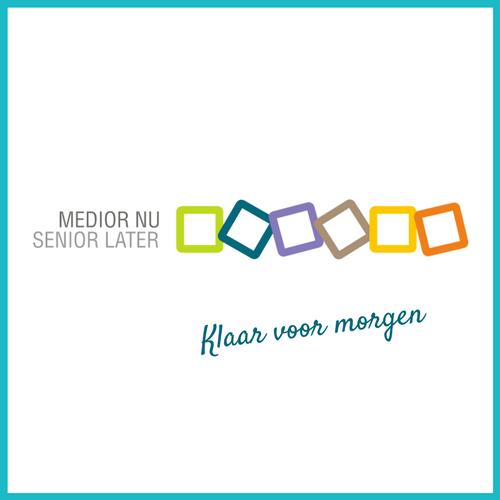 logo medior nu, senior later
