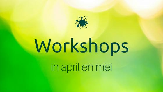 Nieuwe workshops gepland!