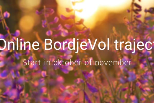 Nieuwe online BordjeVol trajecten gepland